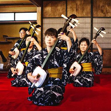 日本樂器・三味線體驗