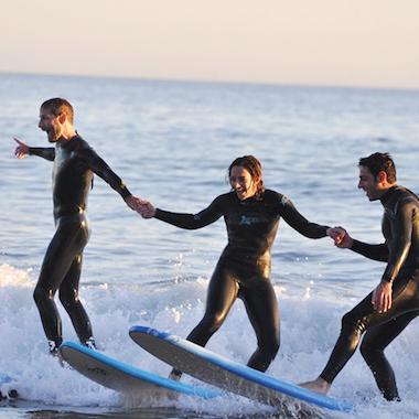 衝浪教學課程,帶走聖塔巴巴拉的陽光