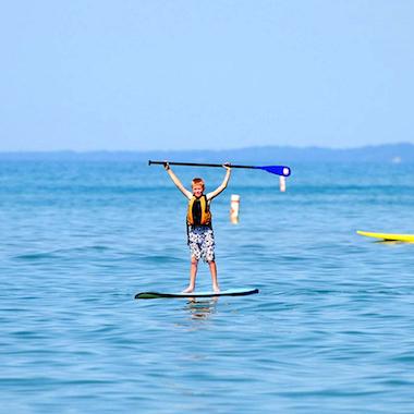 洛斯卡沃斯立槳衝浪板教學