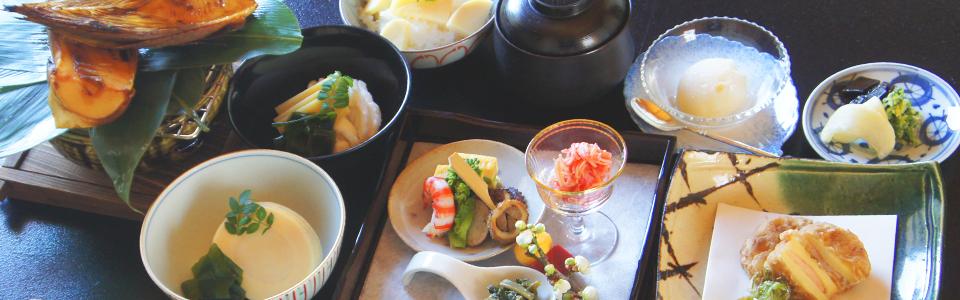 (Kyoto cuisine) Four seasonal flavor · Kyoto Nagaokakyo Japanese cuisine Takeo Image