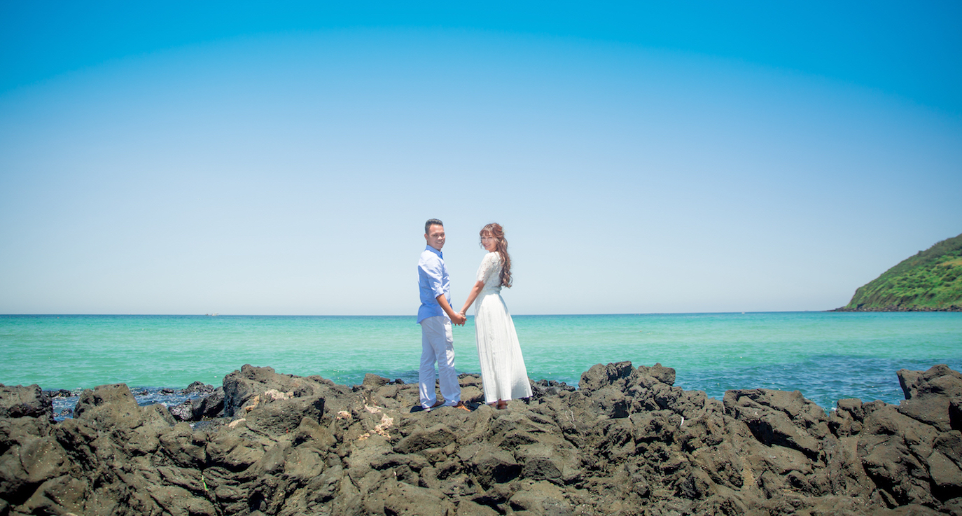 Jeju Outdoor Wedding Photography