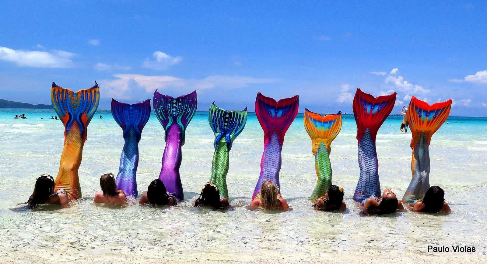 Boracay Island Mermaid Swimming and Photography Class