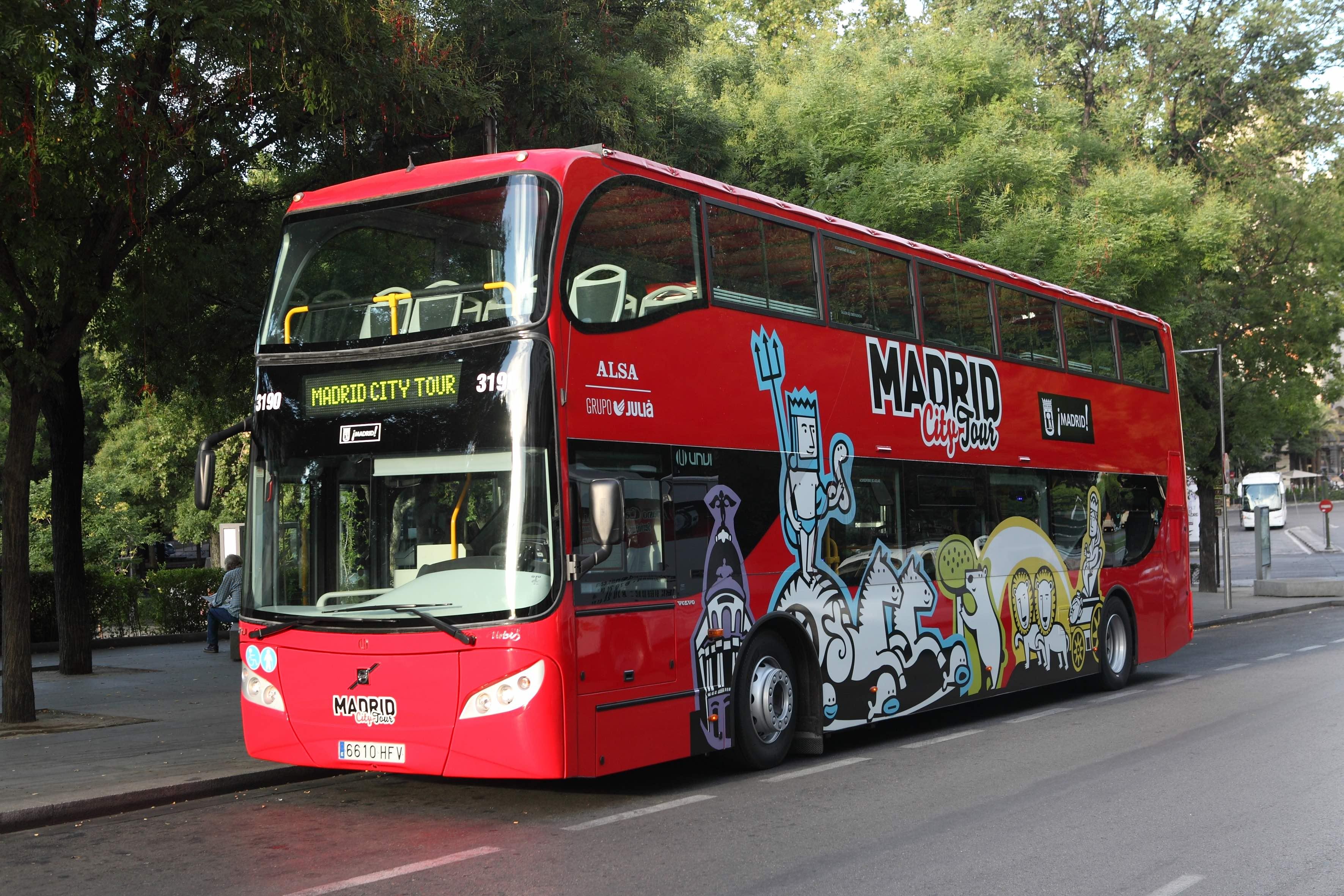 Madrid City Hop-on Hop-off Sightseeing Bus