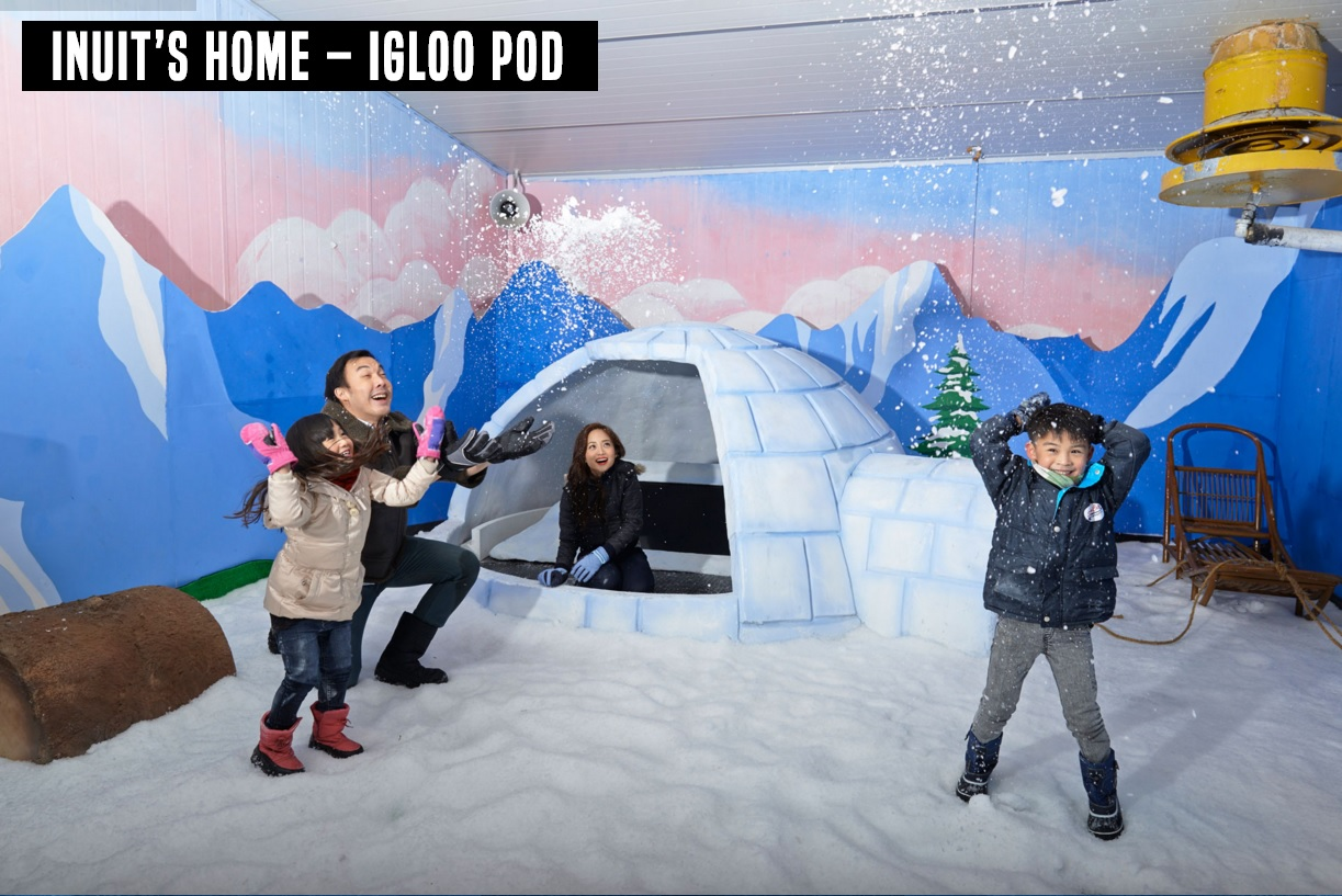 Singapore Snow City Indoor Snow Center
