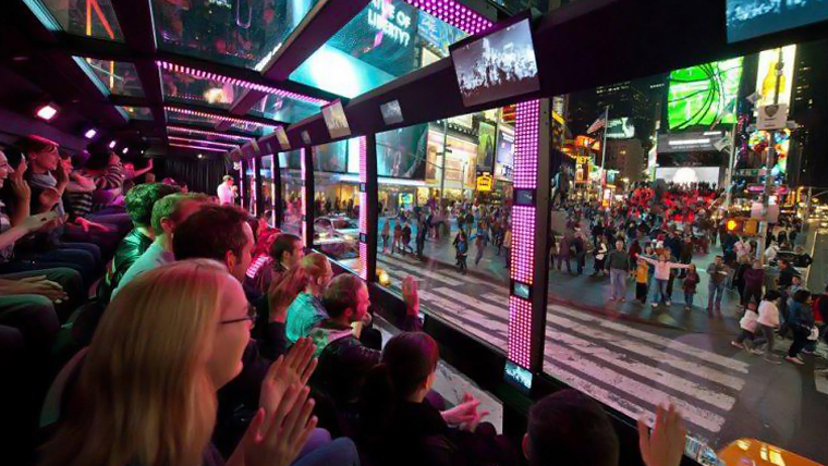 New York The Ride Bus Theater