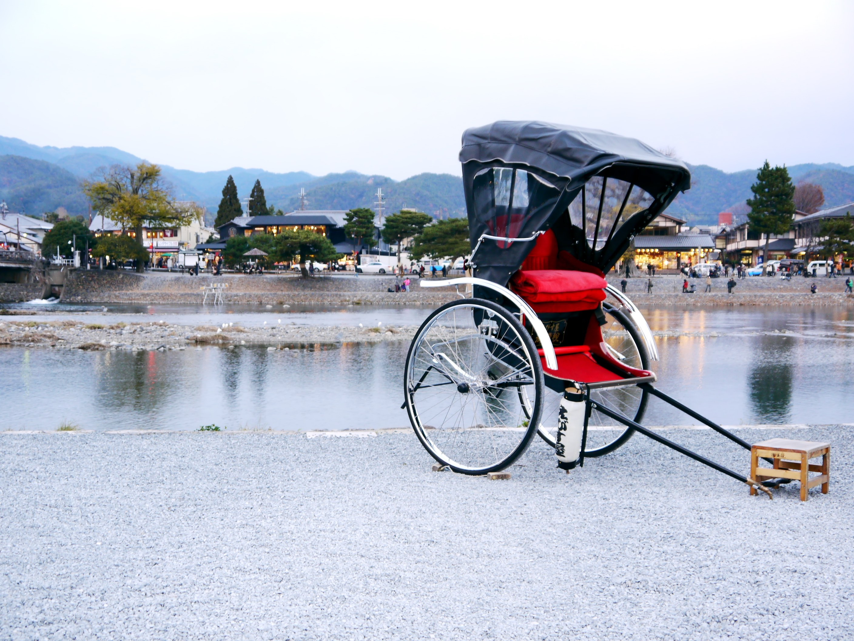 Kyoto Arashiyama Rickshaw Tour