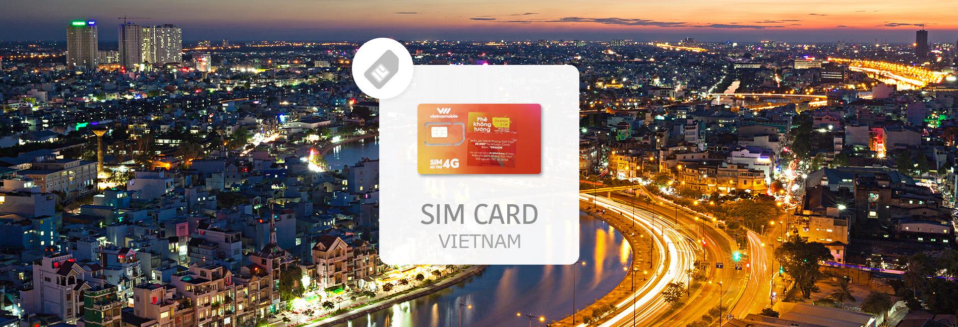 Vietnam 3G SIM Card (Pick-Up in Tan Son Nhat International Airport)