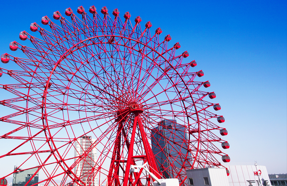 Osaka HEP Five Ferris Wheel Ticket