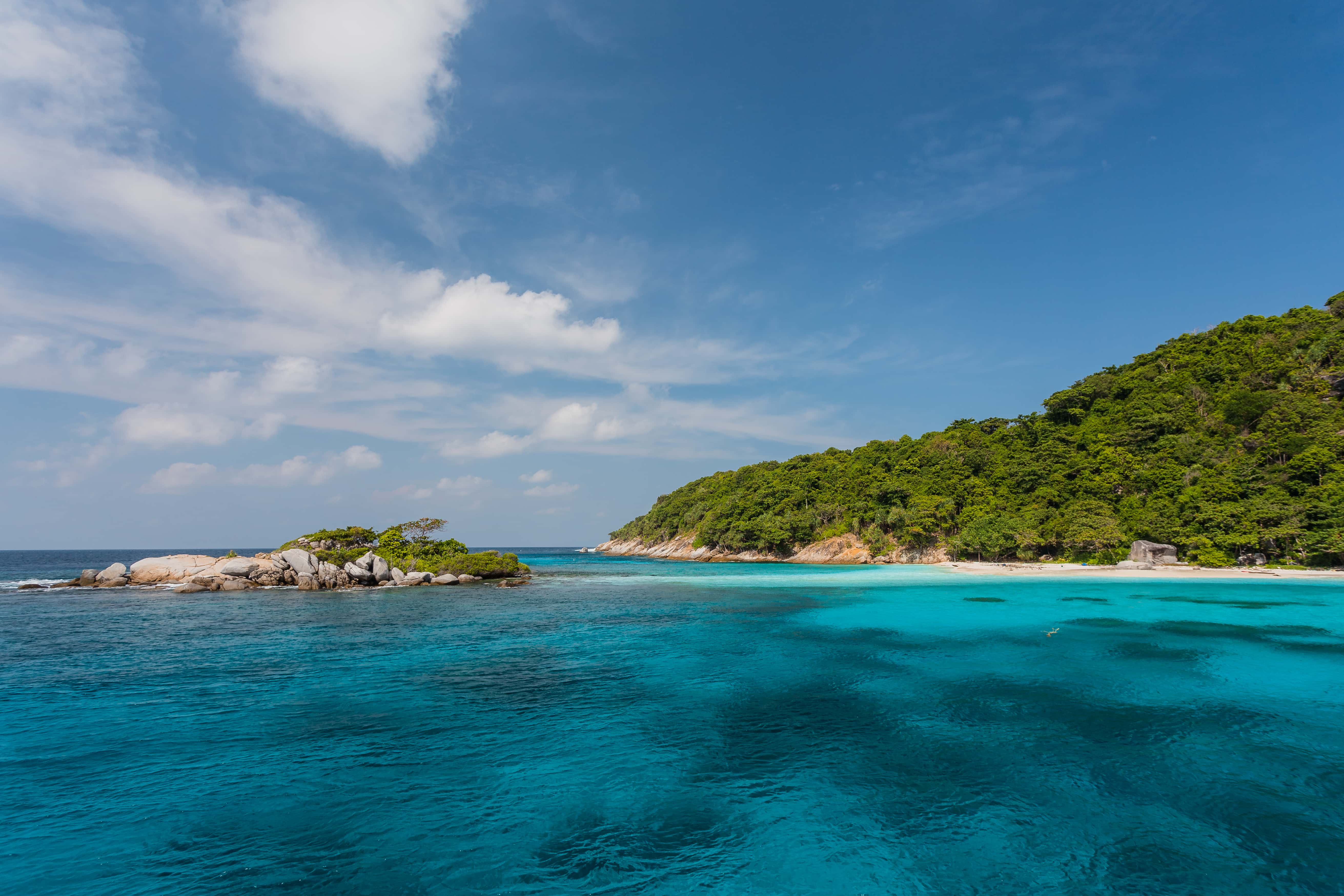 Racha Island Day Tour with Snorkeling and Discover Scuba Diving
