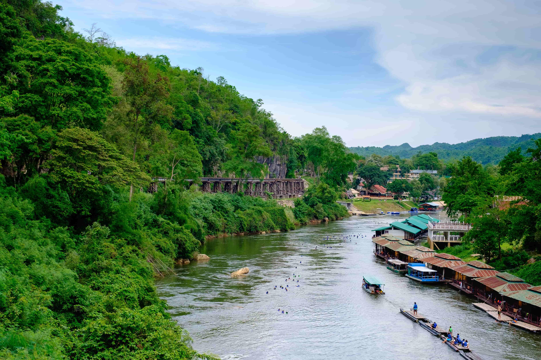 Kanchanaburi Private Two-Day Charter Tour: Float House River Kwai Resort