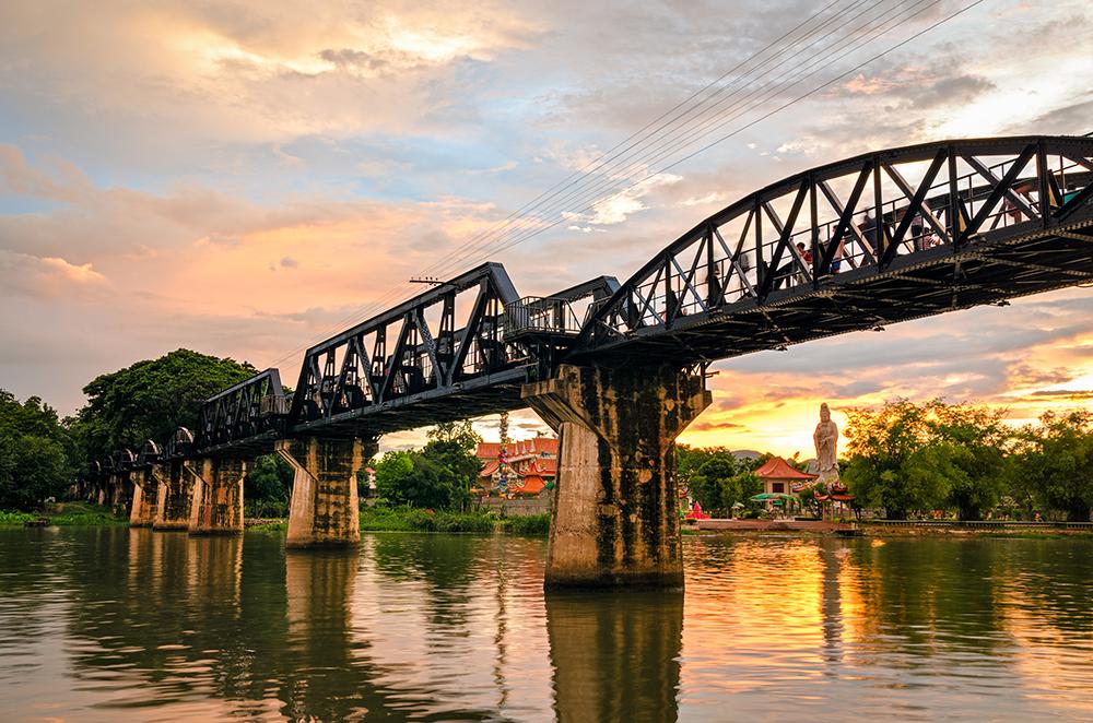 Kanchanaburi Day Tour from Bangkok: Death Railway and River Kwai