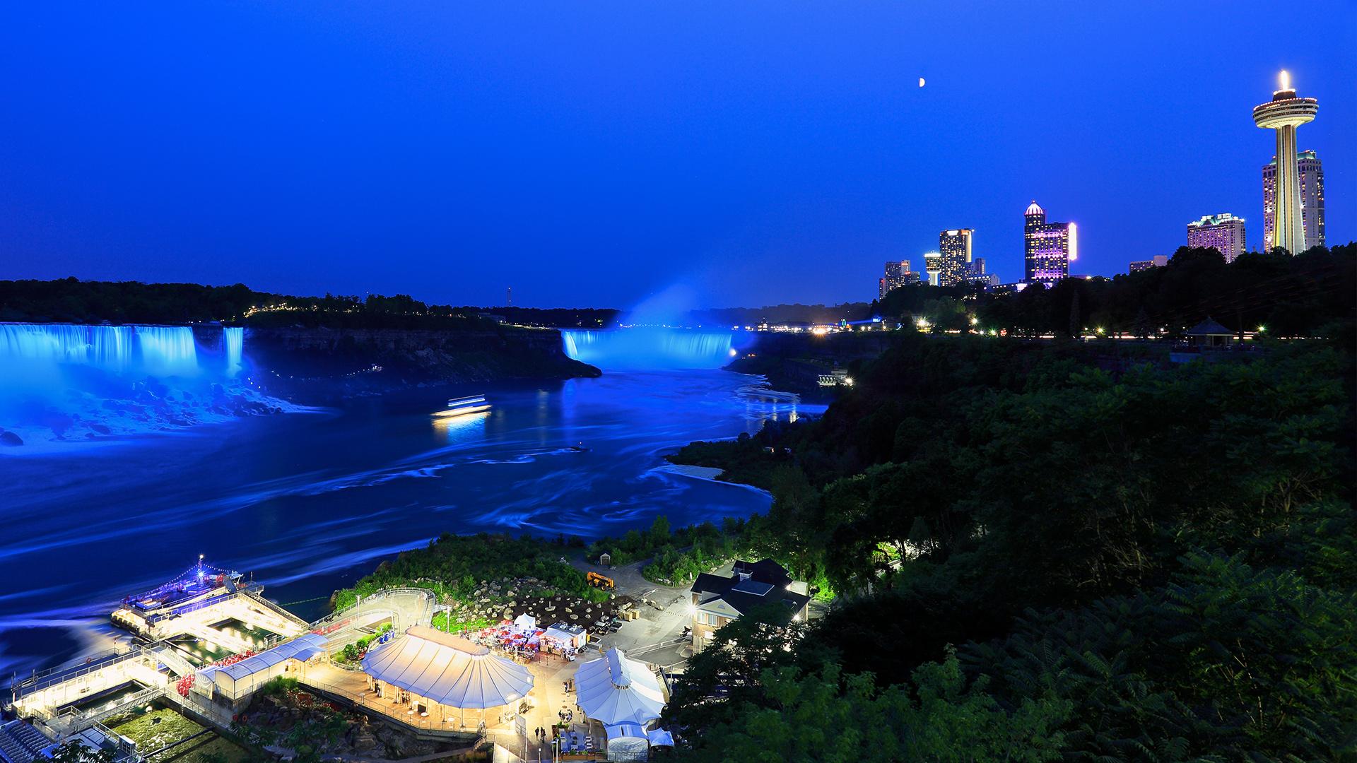 Niagara Falls Skylon Tower Revolving Dining Room Restaurant