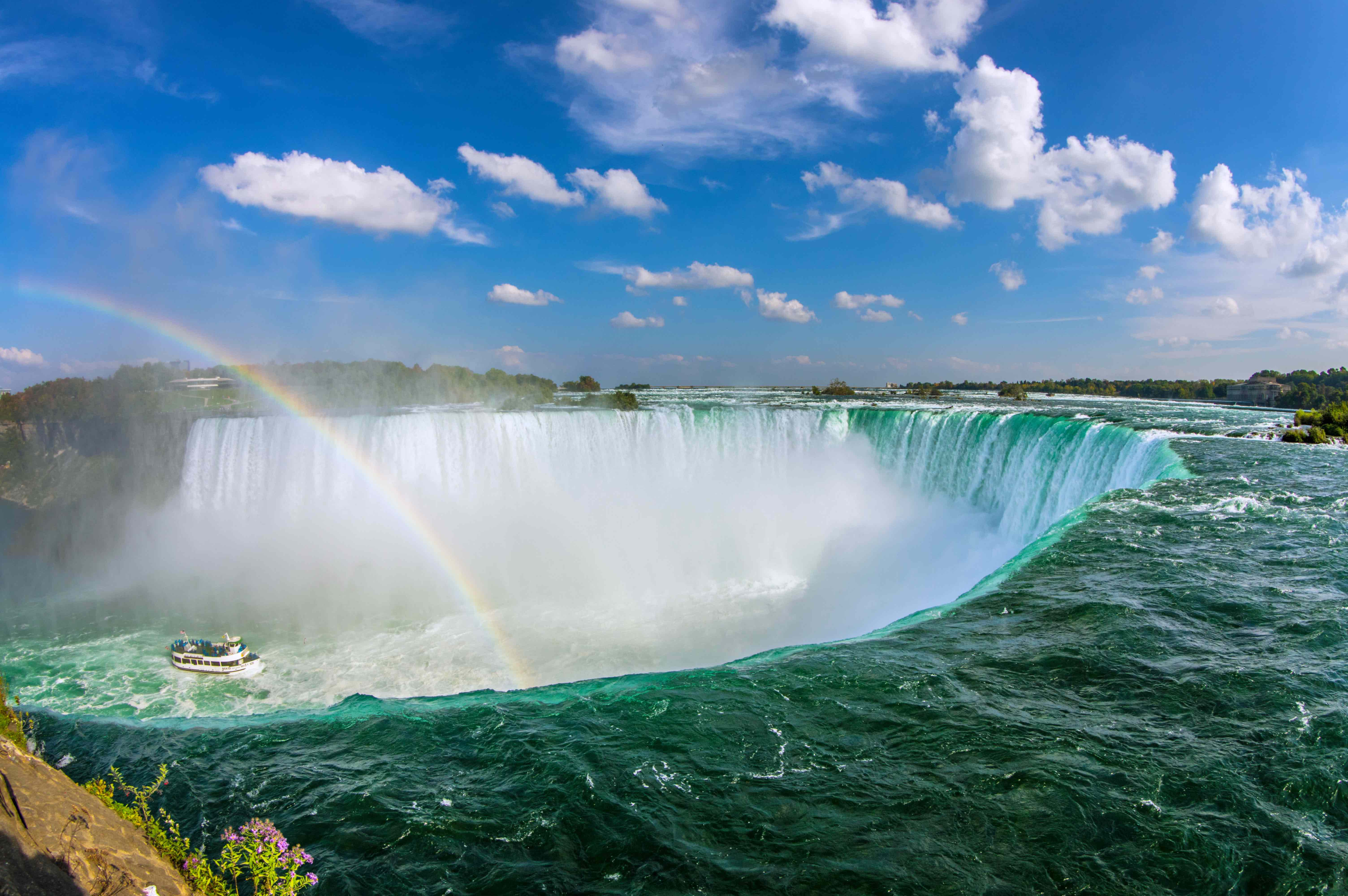 (Niagara Falls) Maid of the Mist Cruise (from the United States)