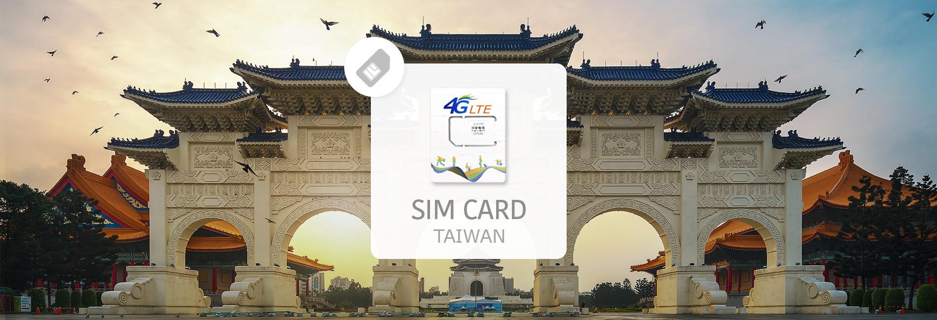 Taiwan Unlimited 4G SIM Card (Pick-Up in Taiwan Airport)