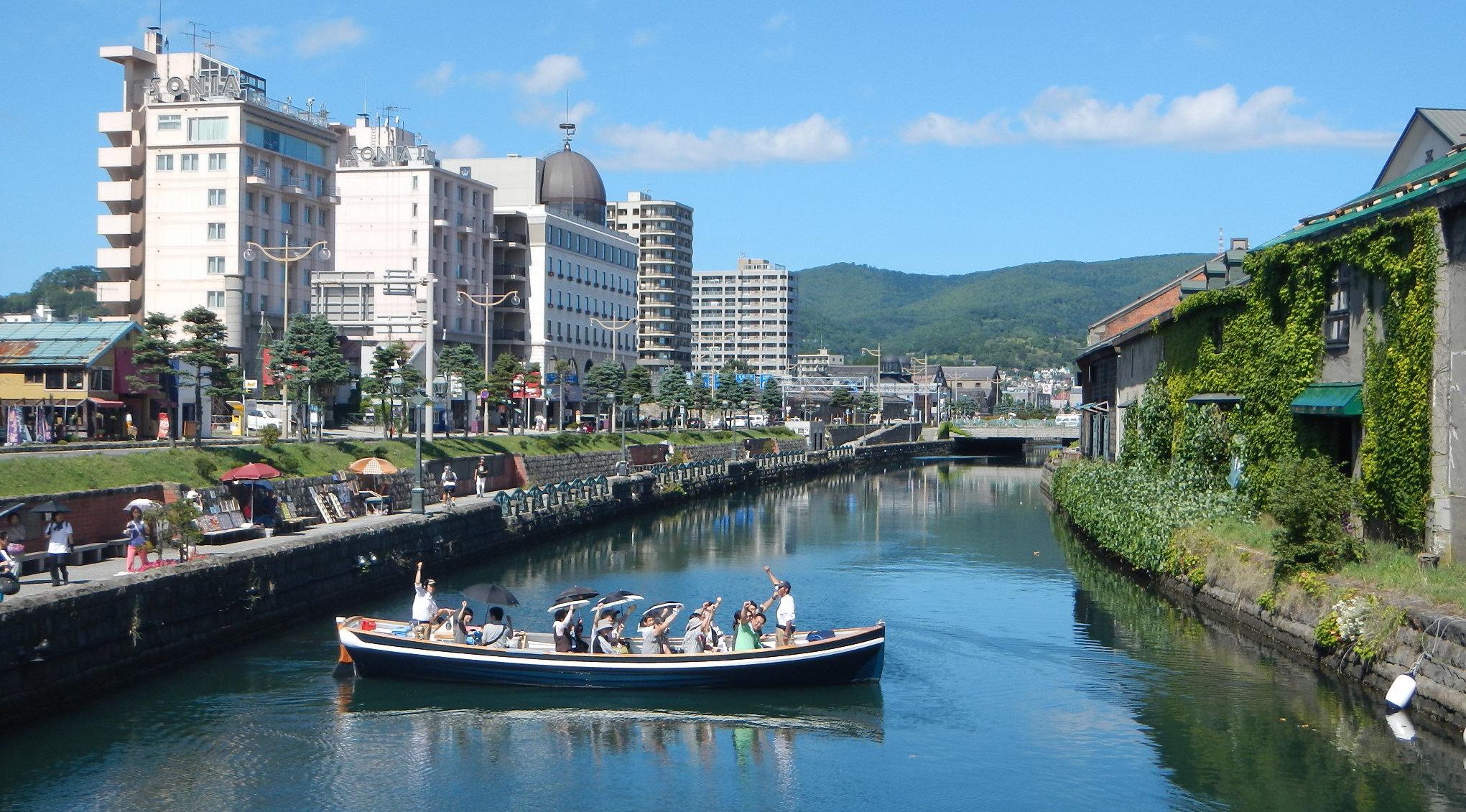 【小樽遊船】TripAdvisor卓越獎!北海道小樽運河遊船 - KKday