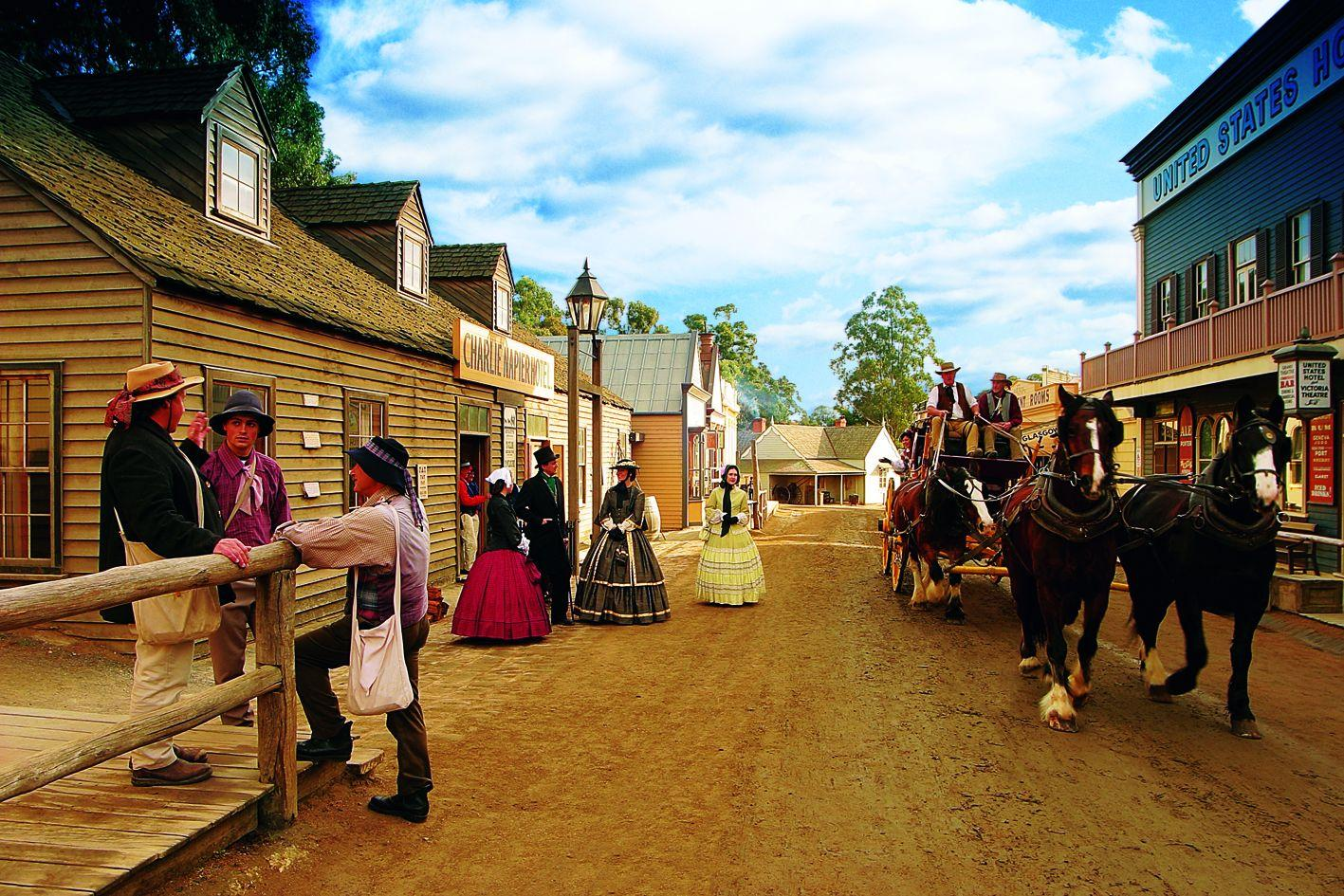 Day Tour from Melbourne: Sovereign Hill Museum