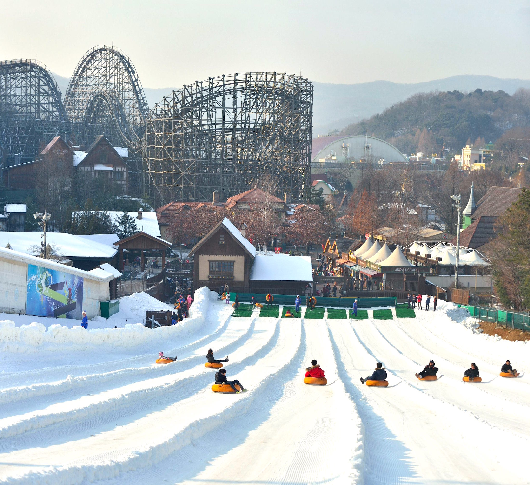 Korea Everland Theme Park Admission Ticket (Express 'Q Pass' Tickets Available)-KKday.com