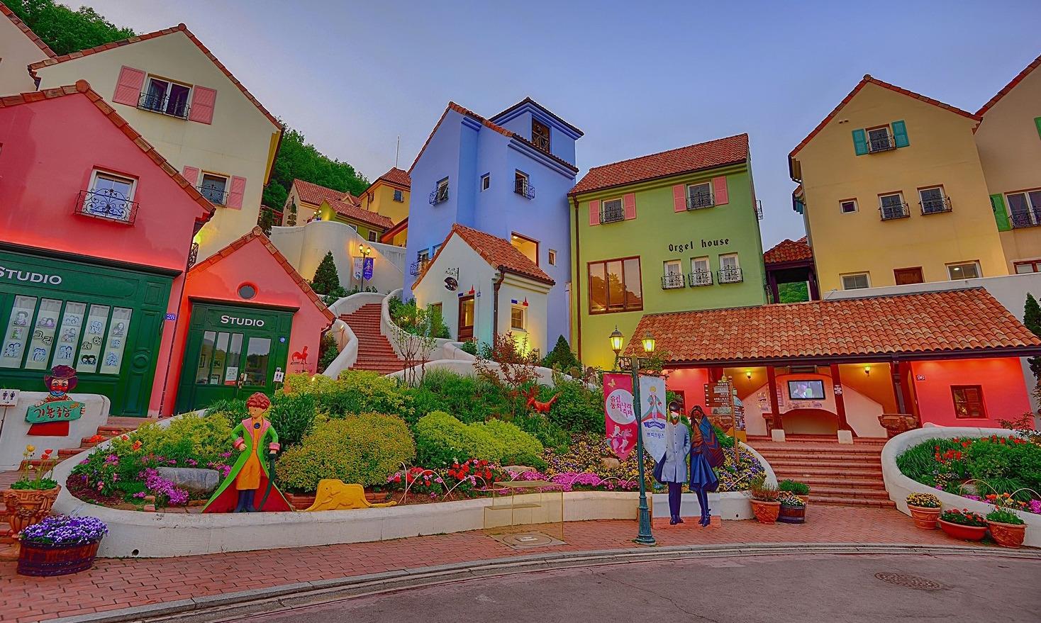 首尔自助行景点  小法国村