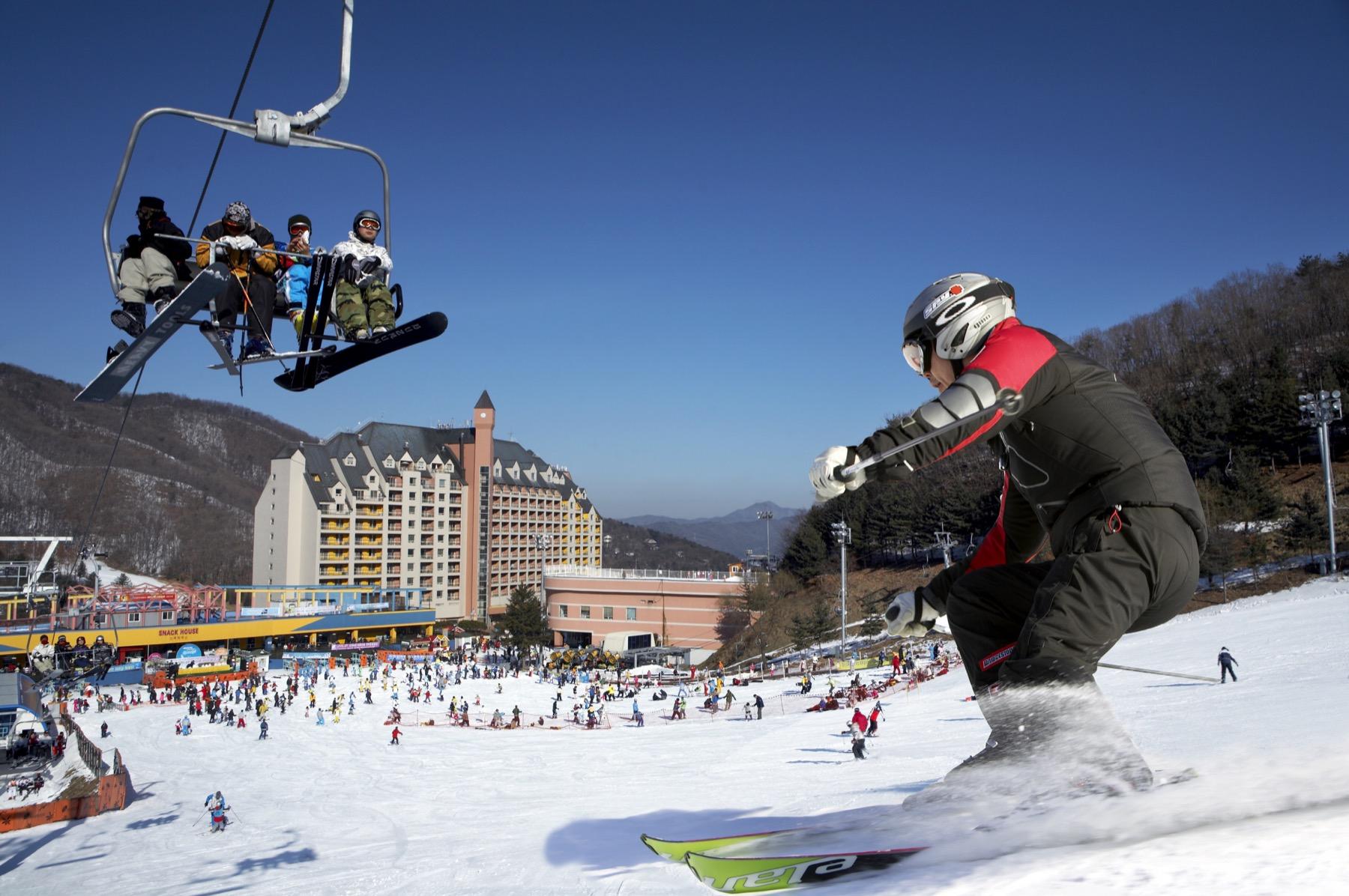 day tour from seoul korea s yangji pine ski resort kkday