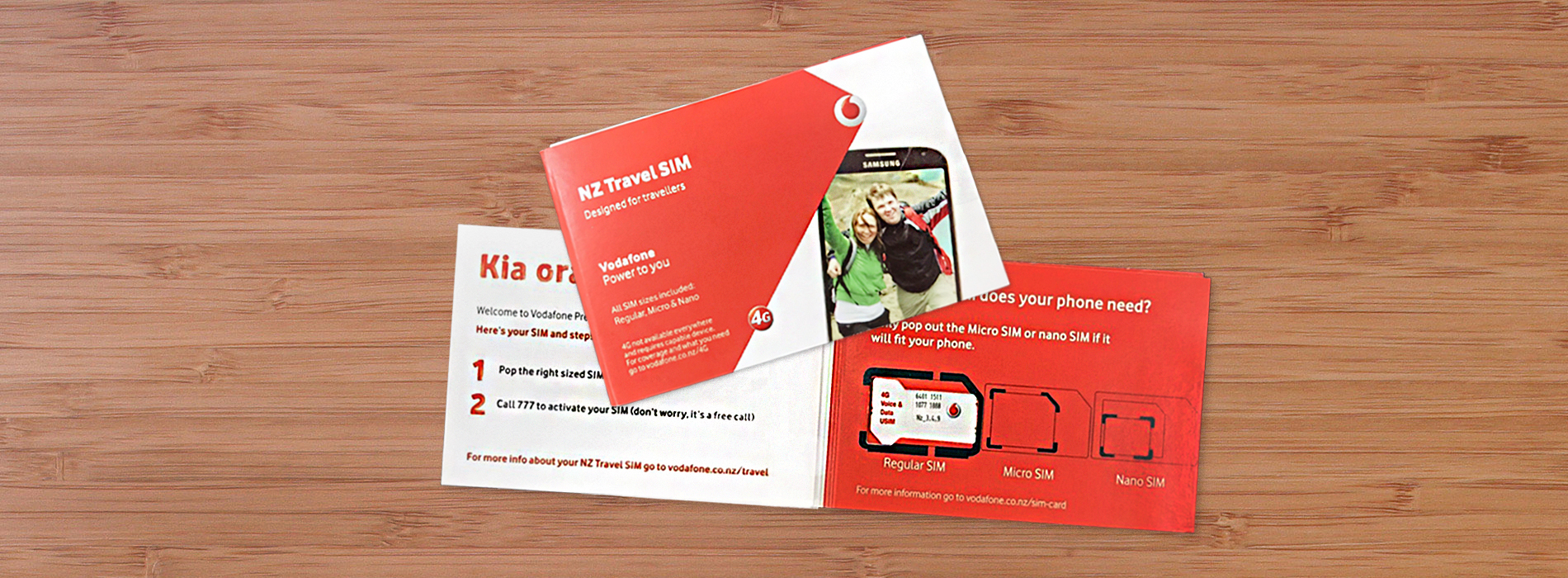 Places to Visit in -Vodafone 1GB-3GB Prepaid SIM For New Zea