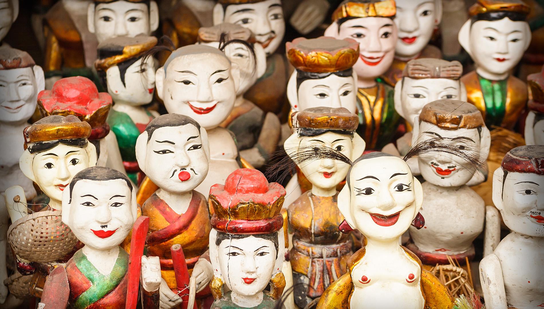 Hanoi Night Tour: Thang Long Water Puppet Show & Street Food