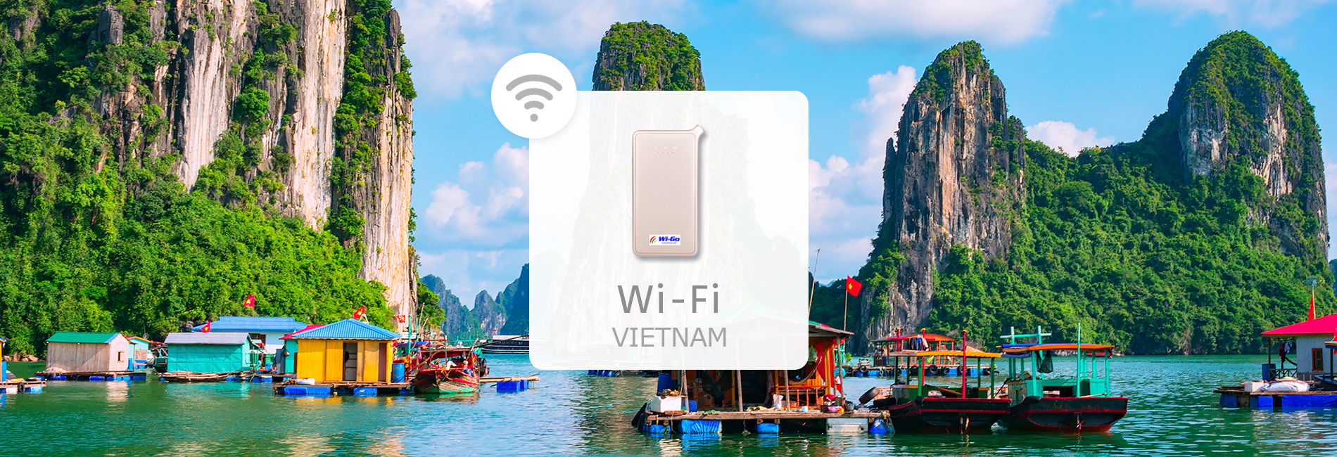Vietnam 4G Portable Wi-Fi Rental (Pick-Up at Taiwan Taoyuan International Airport or Delivery to Taiwan) Image