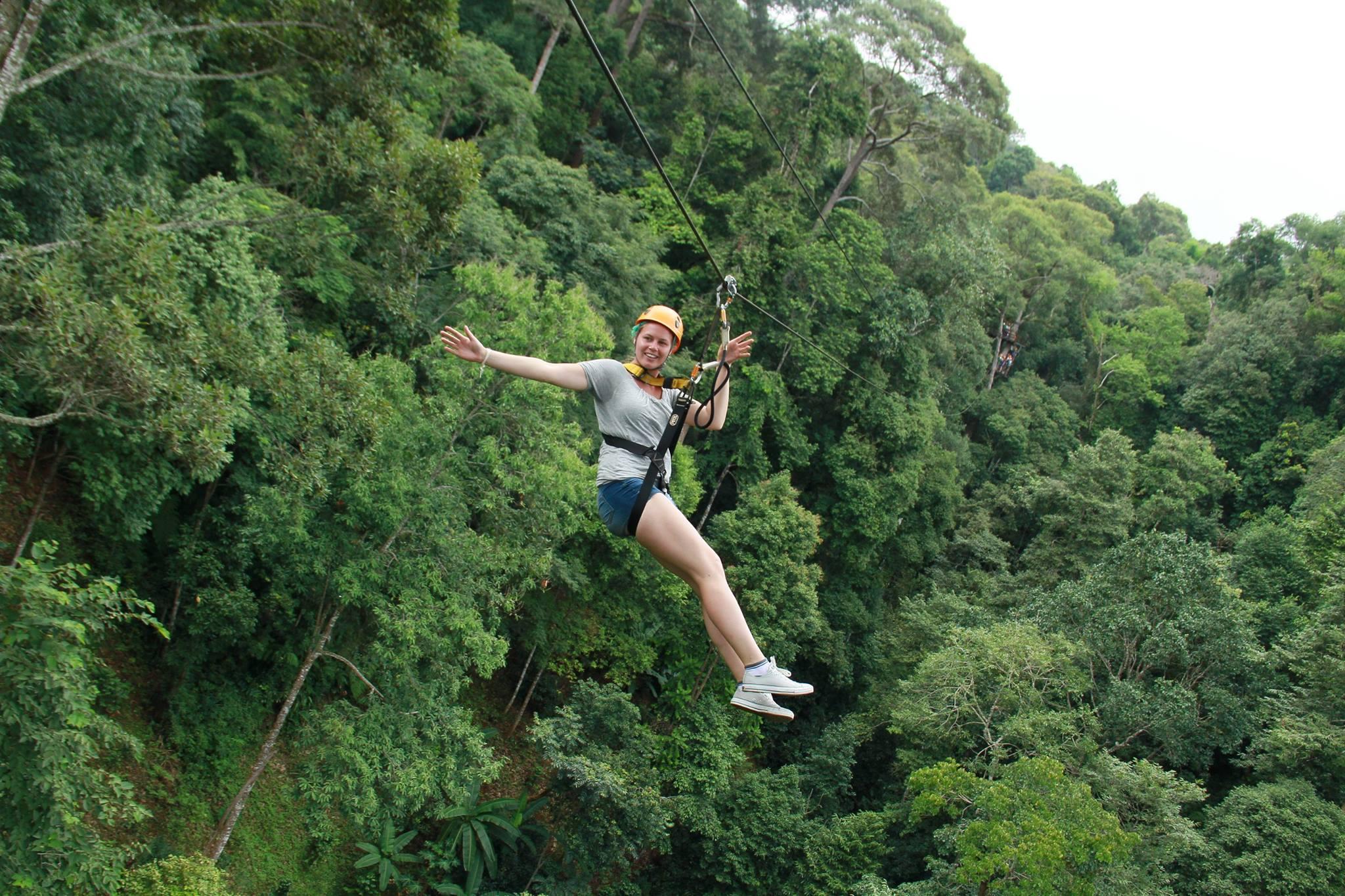 20 割引 ジャングル フライト jungle flight ジップライン